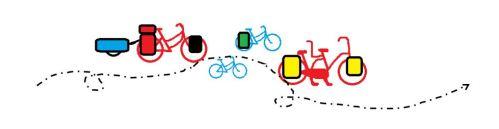 vélo flèche